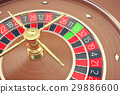 Casino Roulette Game. Casino Gambling. Concept 3D 29886600