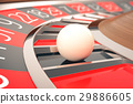 Casino Roulette Game. Casino Gambling. Concept 3D 29886605