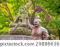 Buddist statues of Hase-dera temple in Kamakura 29886636