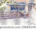 wooden deck, wood deck, terrace 29888348