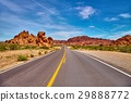 Incredibly beautiful landscape in Southern Nevada 29888772
