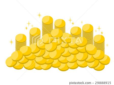 金钱硬币奖牌例证 29888915