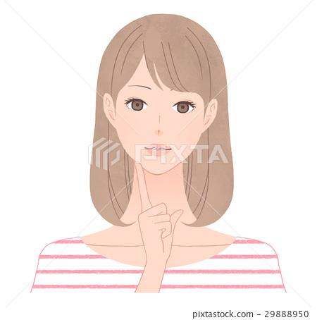 female, lady, woman 29888950