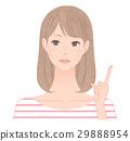 female, lady, woman 29888954