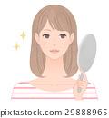 女生 女孩 女性 29888965