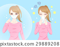 cartoon fever girl 29889208
