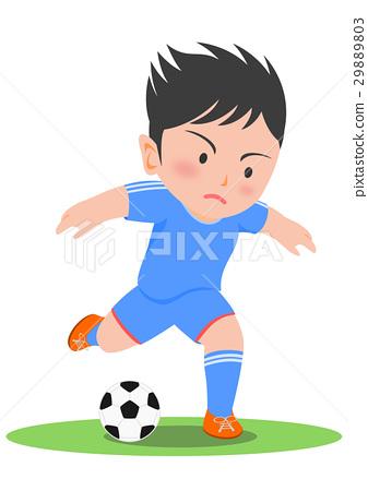Soccer shoot 29889803