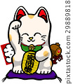 招財貓 玩偶 開運 29889818