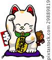 招財貓 玩偶 開運 29889819