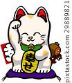 招財貓 玩偶 快樂 29889821