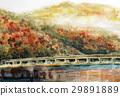 嵐山 渡月橋 風景 29891889