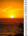 Sunset on Hawaii island 29892492