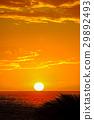 Sunset on Hawaii island 29892493