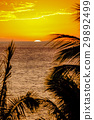 Sunset on Hawaii island 29892499