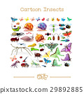 Cartoon animals collection toons: insects SET 2 29892885