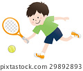 网球 男孩 男孩们 29892893