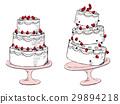 蛋糕例證 29894218