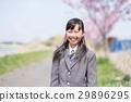 笑脸女孩春天 29896295