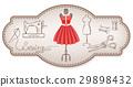 dress, sewing, scissors 29898432