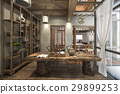 nice design chinese working room with decoration 29899253