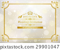wedding, invite, vector 29901047