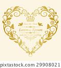 婚禮復古卡 29908021