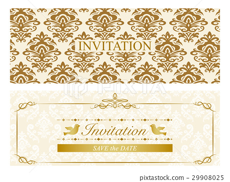 invite, frame, vector 29908025