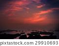 风景 日落 夕阳 29910693