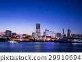Night view of Yokohama Minato Mirai 29910694