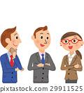 businessman, friendly, colleagues 29911525
