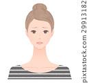 一個女人的臉女人 29913182