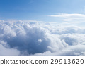 Natural soft white cloud and blue sky 29913620