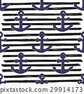 anchor sea pattern 29914173