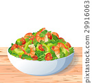 Vegetable healthy asian dietary organic salad 29916063
