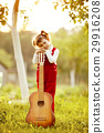 guitar, girl, little 29916208