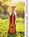 guitar, girl, cute 29916212