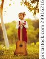 guitar, girl, little 29916216