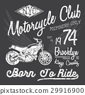 motorcycle, vector, design 29916900