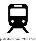 火車 電氣列車 圖標 29921249