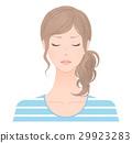 成熟的女人 一個年輕成年女性 女生 29923283