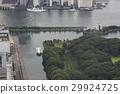 hamarikyu gardens, tokyo bay, seawater 29924725
