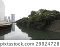 hamarikyu gardens, tokyo bay, seawater 29924728