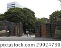 hamarikyu gardens, tokyo bay, seawater 29924730