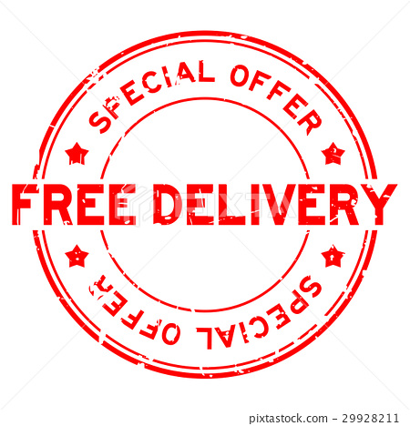 Grunge special offer free delivery rubber stamp 29928211