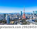 東京塔和城市景觀 29928450