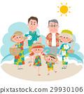在海滨的家庭度假 29930106