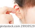 여성, 여자, 귀 29930529