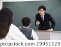 수업, 학생, 중고등학생 29931520