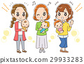 baby, infant, mother 29933283