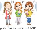baby, infant, mom 29933284